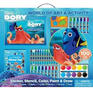 Finding Dory World Of Art And Activity